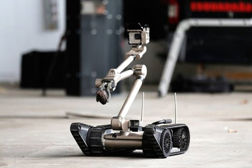 Imagem de Polícia do RJ possui robôs avançados — mas o fim deles pode estar próximo no tecmundo