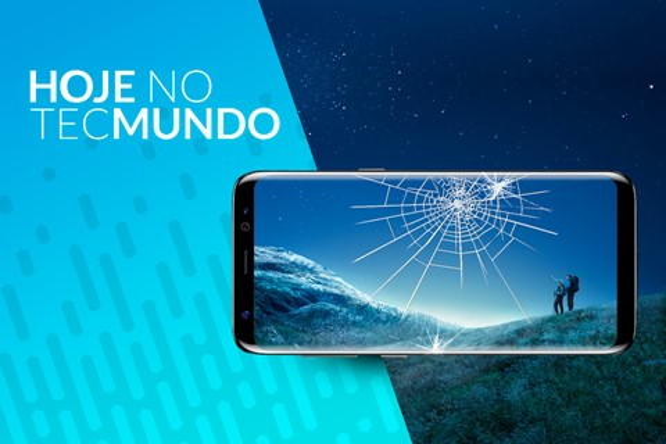 Imagem de Galaxy S8+ é frágil contra quedas - Hoje no TecMundo no tecmundo