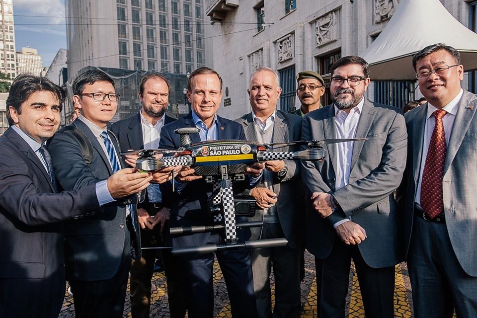 Imagem de Drones chineses devem ajudar GCM no monitoramento da cidade de São Paulo no tecmundo