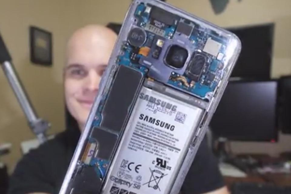 Imagem de Você pode deixar seu Galaxy S8 com traseira transparente, mas tem um preço no tecmundo