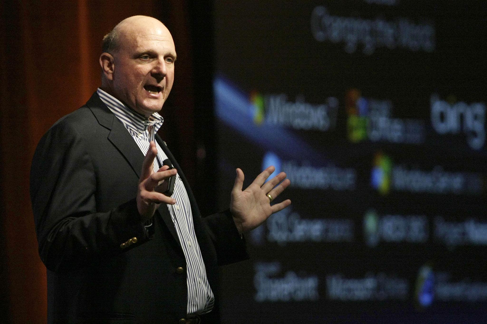 Imagem de Para Steve Ballmer, Microsoft demorou a entrar no mercado de hardware no tecmundo