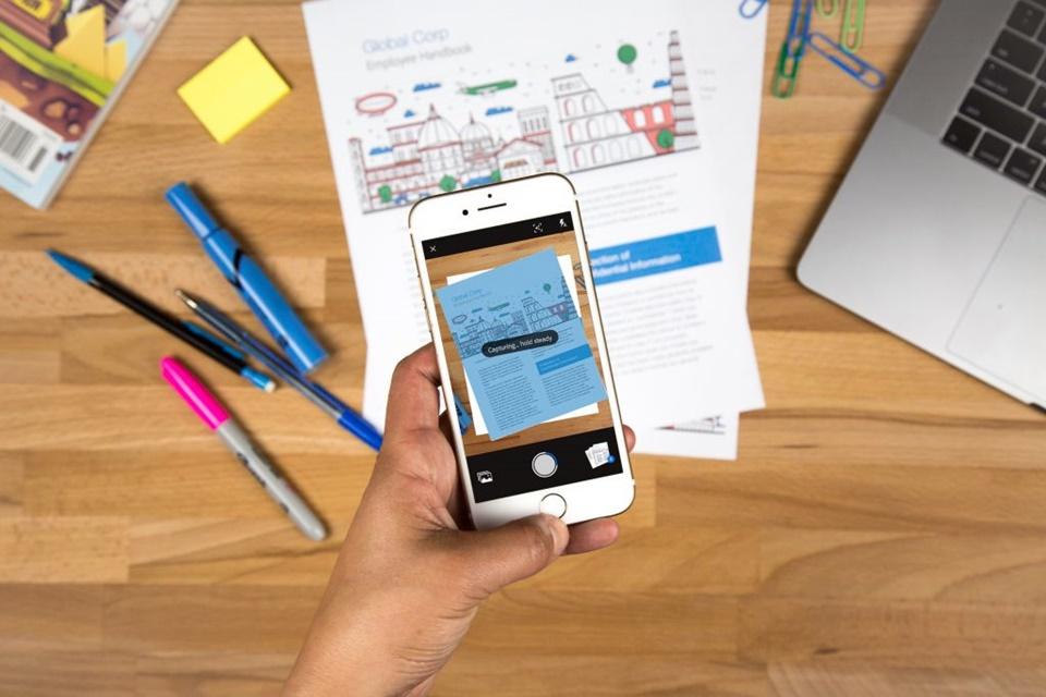 Imagem de Adobe Scan usa a câmera do seu celular para converter documentos em PDF no tecmundo