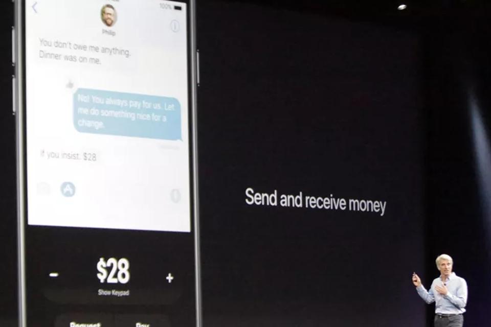Imagem de iMessage do iOS 11 terá função para enviar e receber dinheiro por mensagens no tecmundo