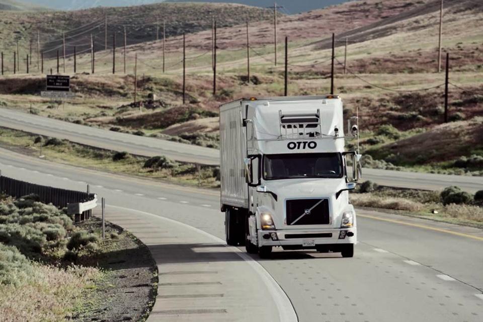Imagem de Unidade do caminhão autônomo da Uber está sendo investigada por seus testes no tecmundo