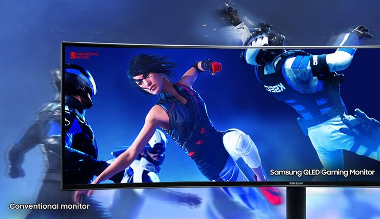 41b523c3a Sonho gamer  Samsung lança monitor widescreen 49 polegadas com tela ...