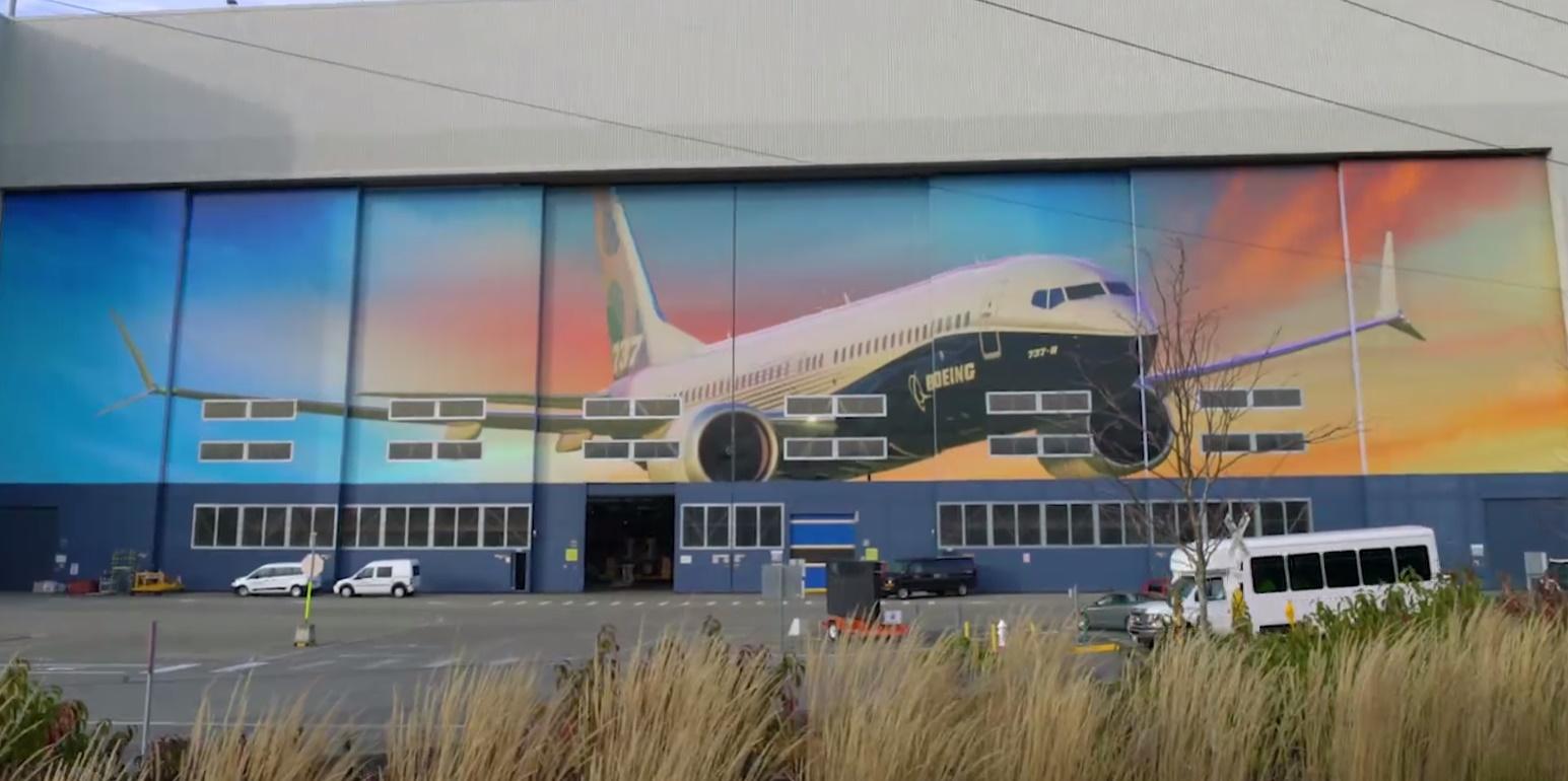 Imagem de Faça um tour pela linha de produção do Boeing 737 em 360 graus no tecmundo