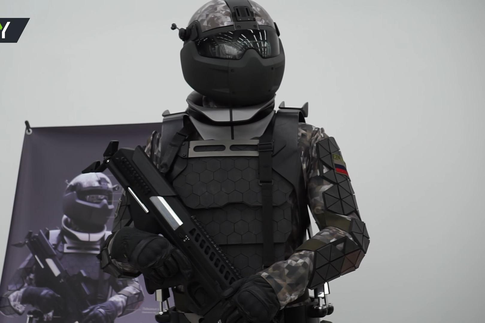 Imagem de Novo exoesqueleto russo transforma militares em soldados do futuro no tecmundo