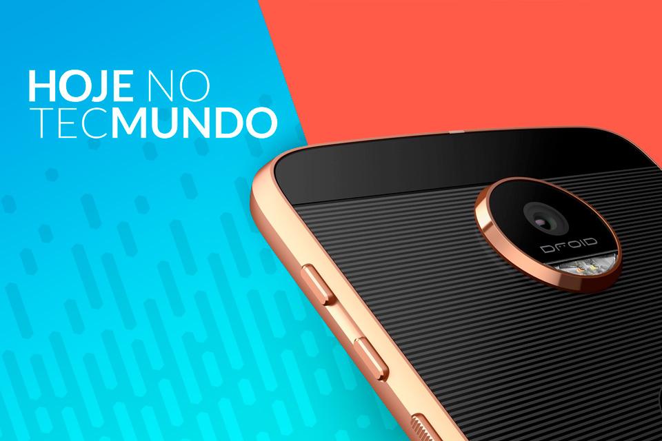Imagem de Motorola confirma Moto Z2 Force para dia 25 de julho - Hoje no TecMundo no tecmundo