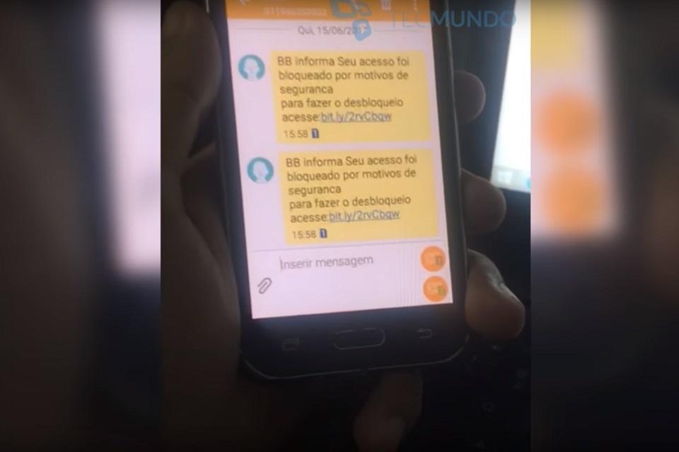 Imagem de Vídeo mostra criminoso enviando SMS falso para clientes do Banco do Brasil no tecmundo