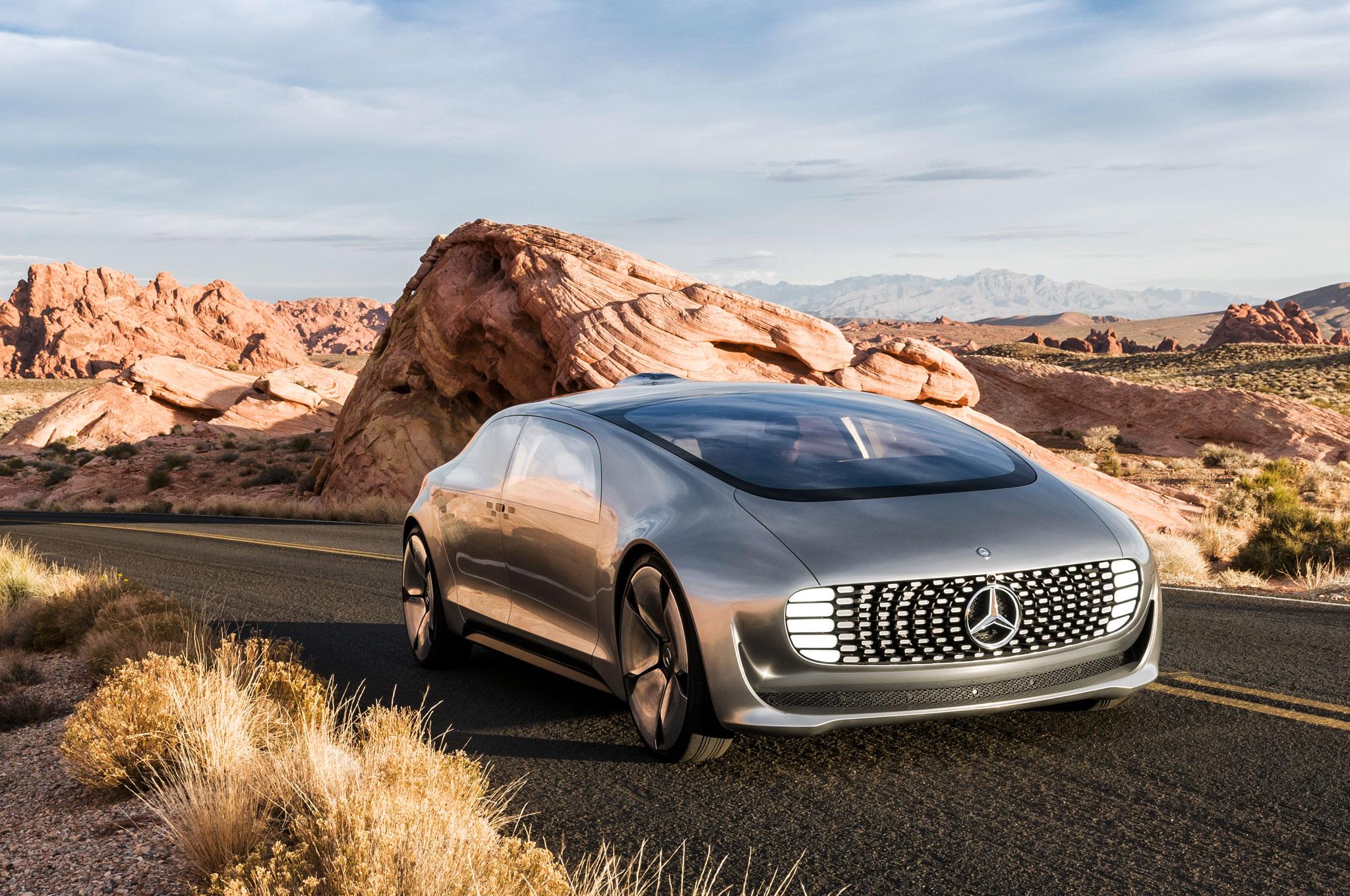 Imagem de Mercedes-Benz: carros autônomos tem que começar como táxis no tecmundo