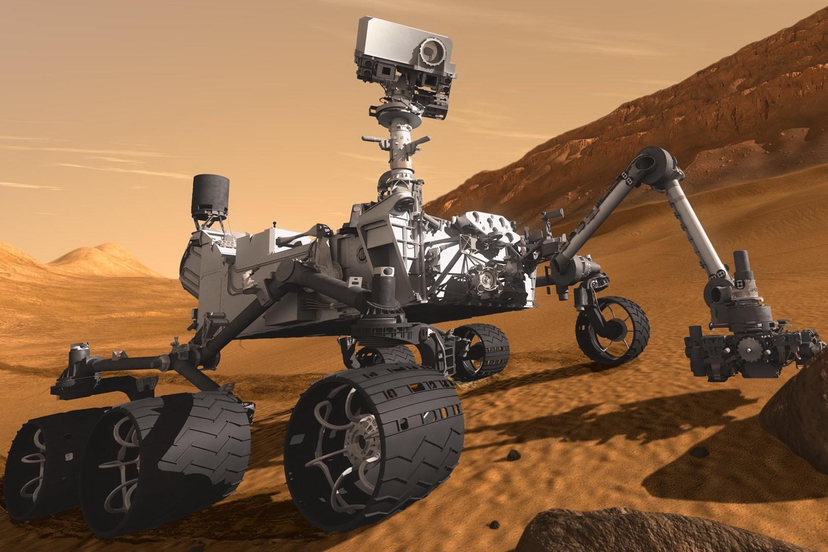 Imagem de NASA comemora 5 anos de exploração marciana da Curiosity e lança vídeo no tecmundo