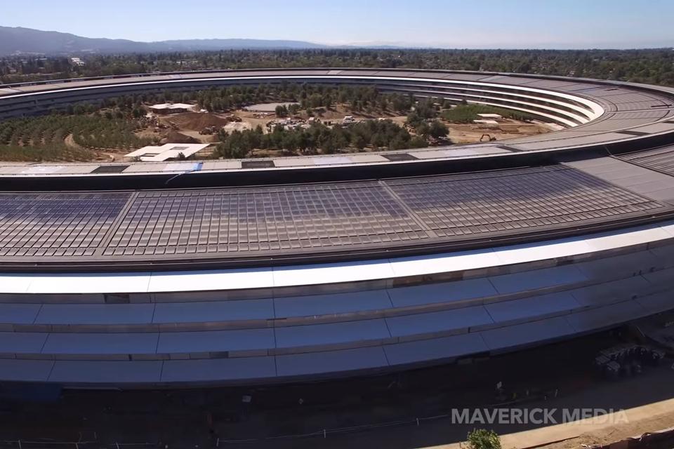 Imagem de Falta pouco: confira como está a construção do novo campus da Apple [vídeo] no tecmundo