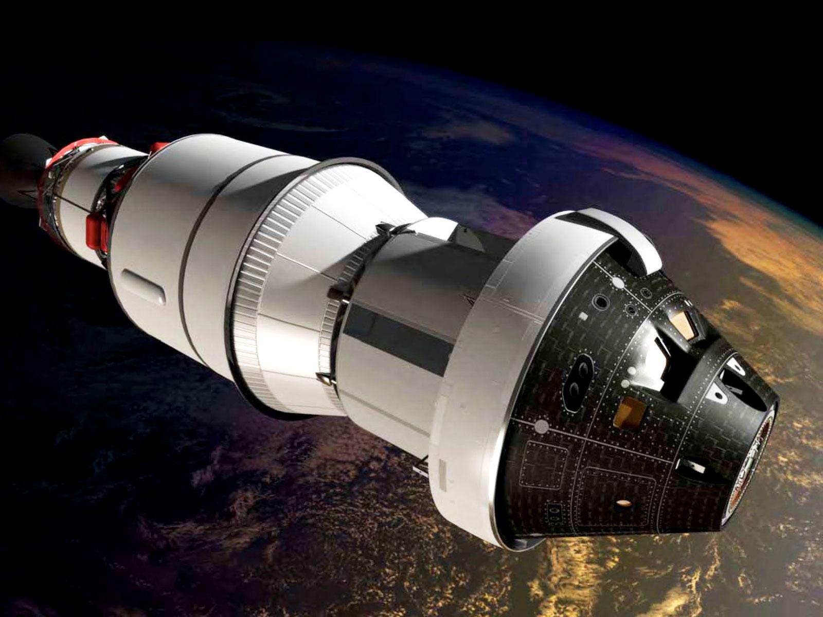 Imagem de NASA já faz testes na nave espacial que pode levar o homem até Marte no tecmundo