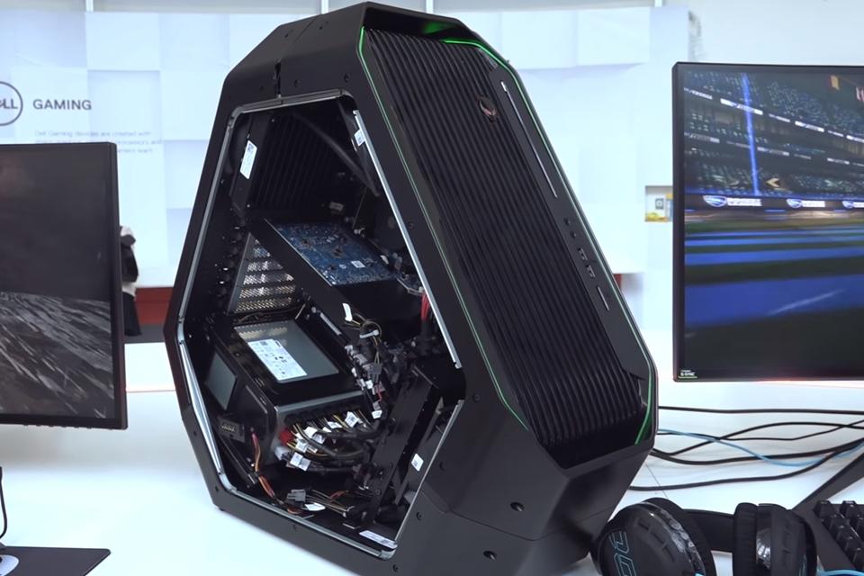 Imagem de Monstrão dos games: Dell apresenta PC Alienware Area 51 durante a IFA 2017 no tecmundo
