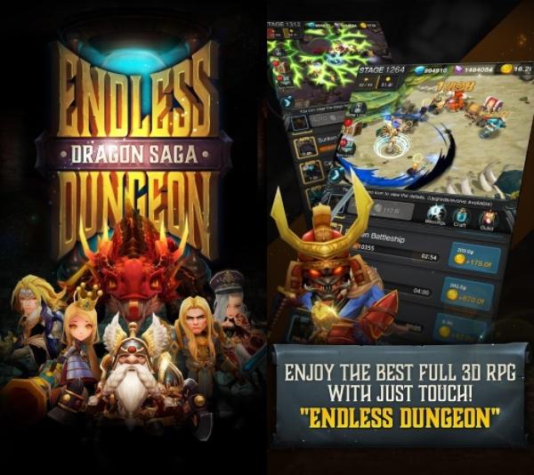 Endless Dungeon: Dragon Saga