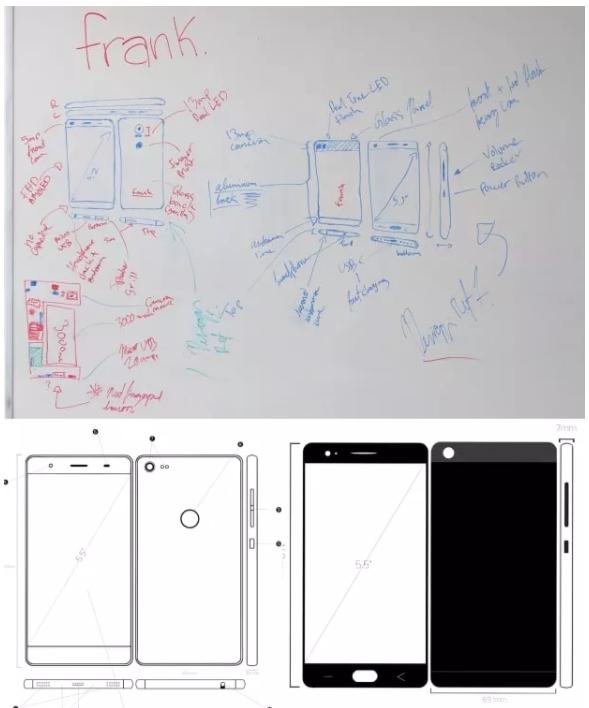 esquema de celular