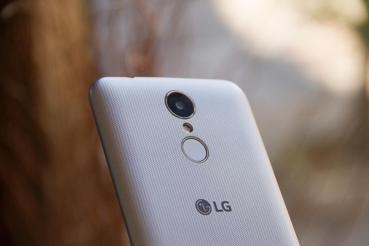 Câmera do LG K4 Novo