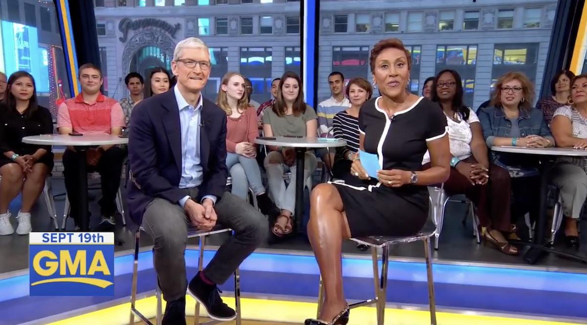 Imagem de iPhone X custa o que ele vale, afirma Tim Cook em entrevista no tecmundo