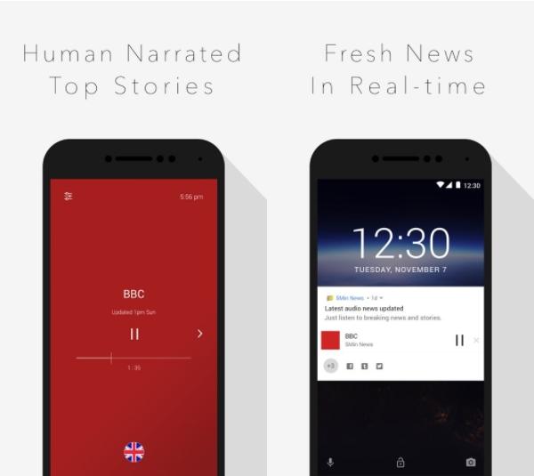 5min - Voice Reading news