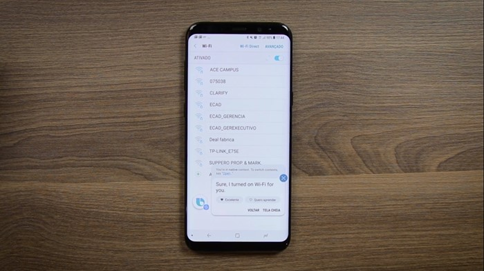 Bixby Voice no Galaxy S8