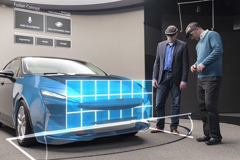 Imagem de Ford já usa realidade aumentada da Microsoft para modelar carros no tecmundo