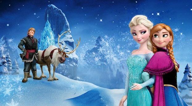 Elsa e Anna do filme Frozen