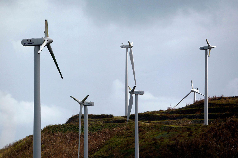 turbinas eólicas danificadas