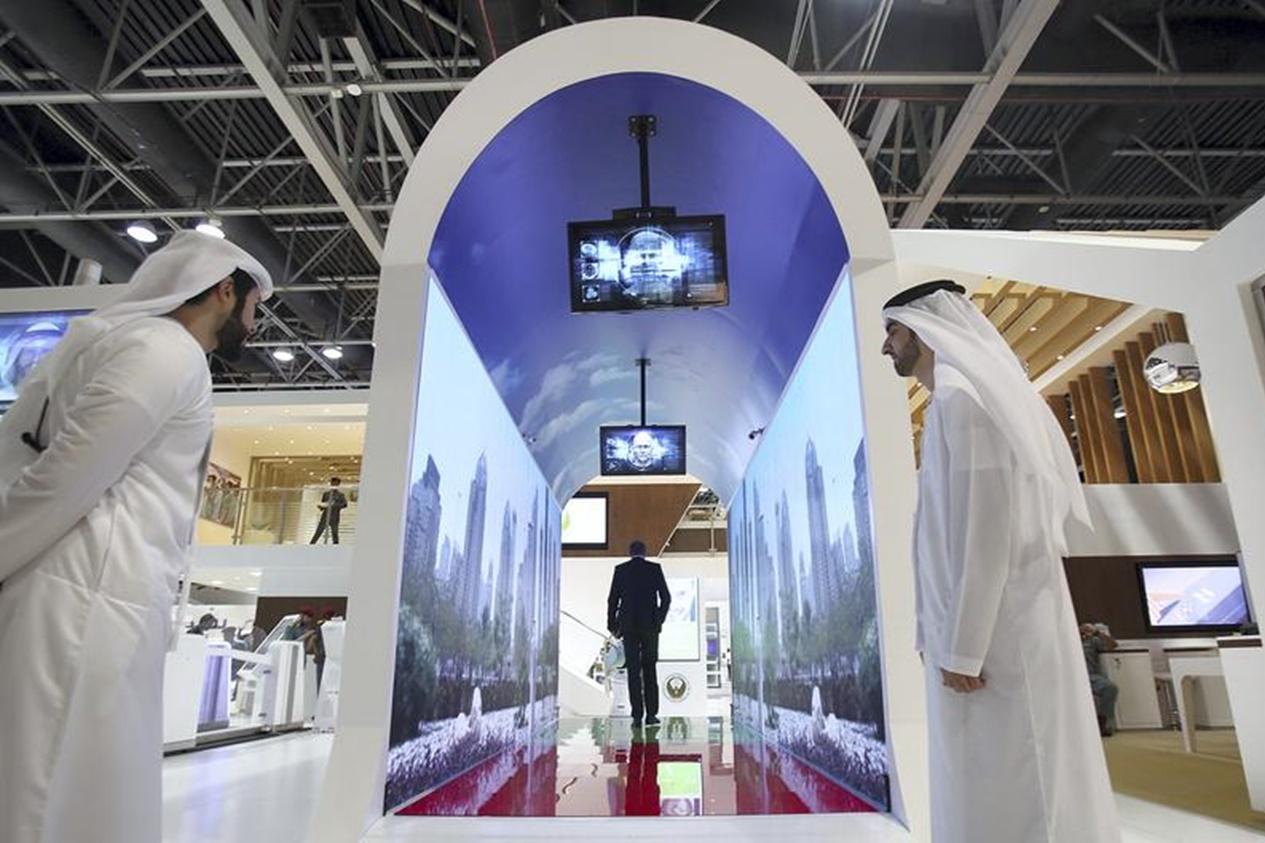 """Imagem de """"Aquário"""" no aeroporto de Dubai fará reconhecimento facial de passageiros no tecmundo"""