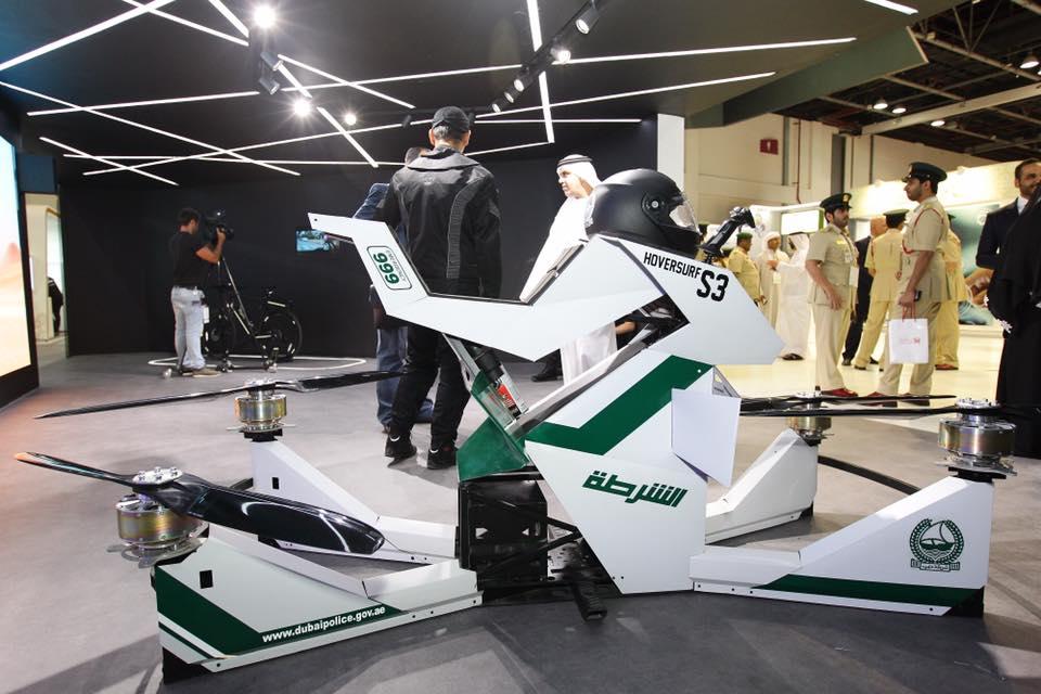 Imagem de Moto voadora pode ser a próxima novidade da polícia de Dubai; confira no tecmundo