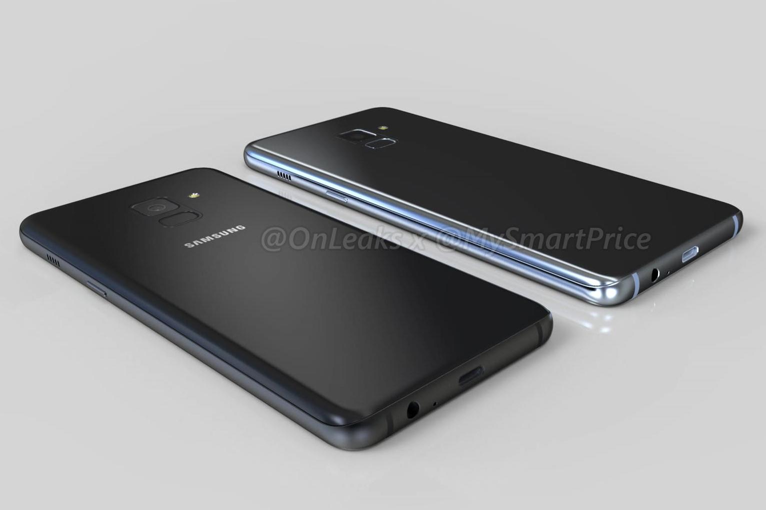 Imagem de Versões 2018 de Galaxy A5 e Galaxy A7 aparecem novamente em belas imagens no tecmundo