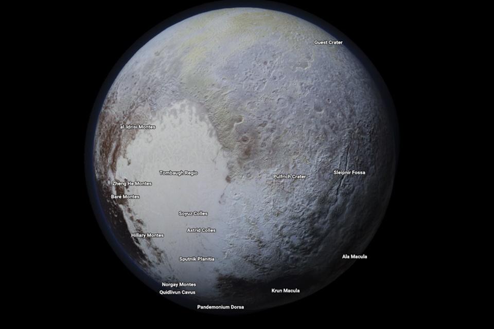Imagem de Google Maps agora permite a você explorar planetas e luas, experimente no tecmundo