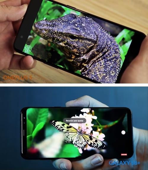 OnePlus 5 vs. Galaxy S8+