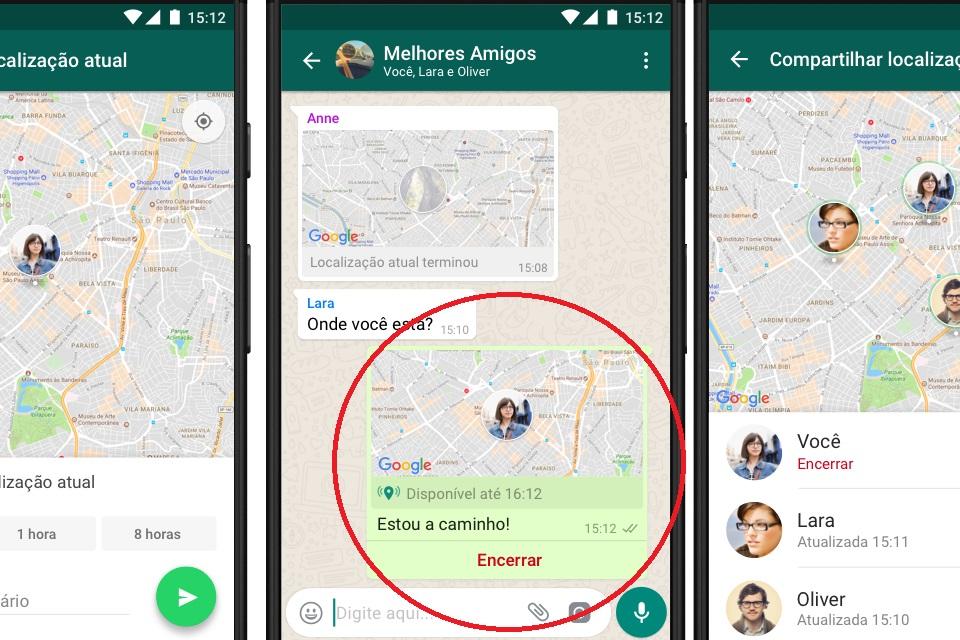 Imagem de WhatsApp agora deixa você rastrear seus amigos em tempo real no tecmundo