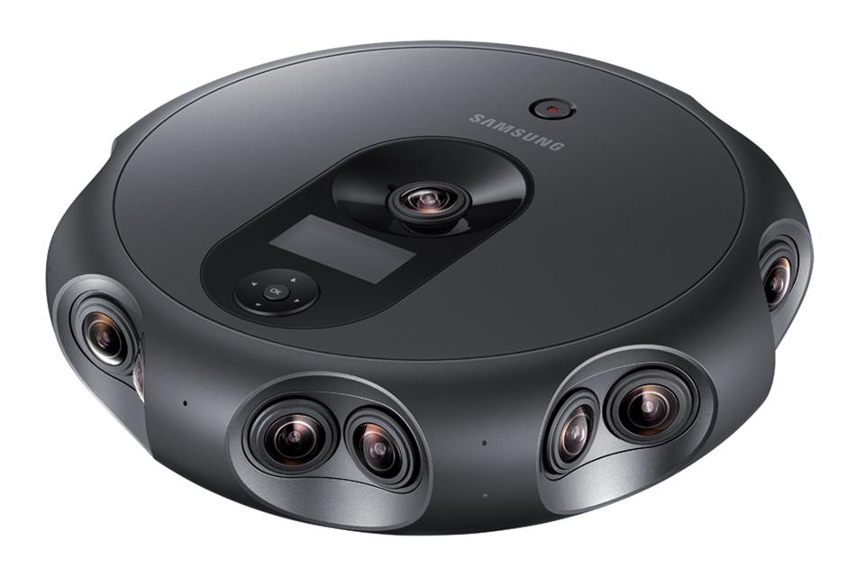 Imagem de Samsung 360 Round é uma câmera 4K de 360° com 17 lentes no tecmundo