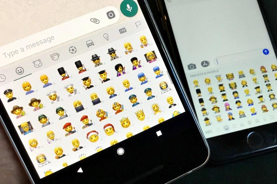 Imagem de Tem girafa e porco-espinho: WhatsApp libera emojis repaginados no Android no tecmundo
