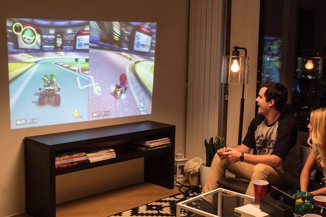 Imagem de OJO: acessório para Nintendo Switch é um dock com projetor portátil no tecmundo