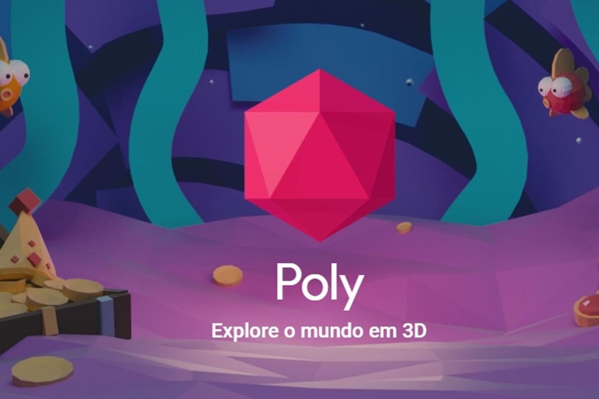 Imagem de Poly: Google lança loja de objetos para realidade virtual e aumentada no tecmundo