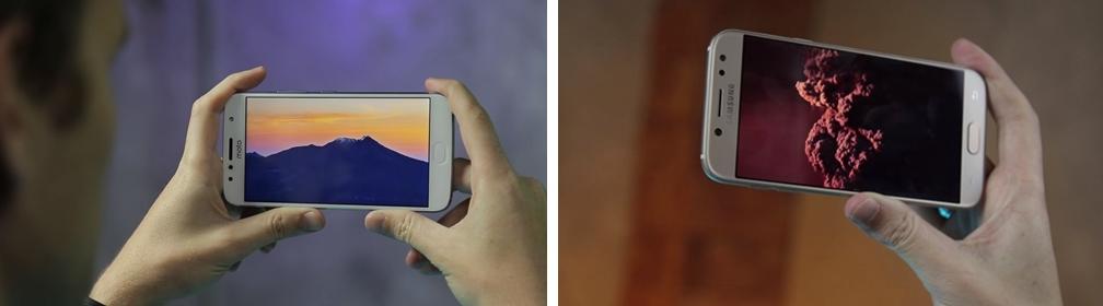 Moto G5S Plus vs Galaxy J5 Pro