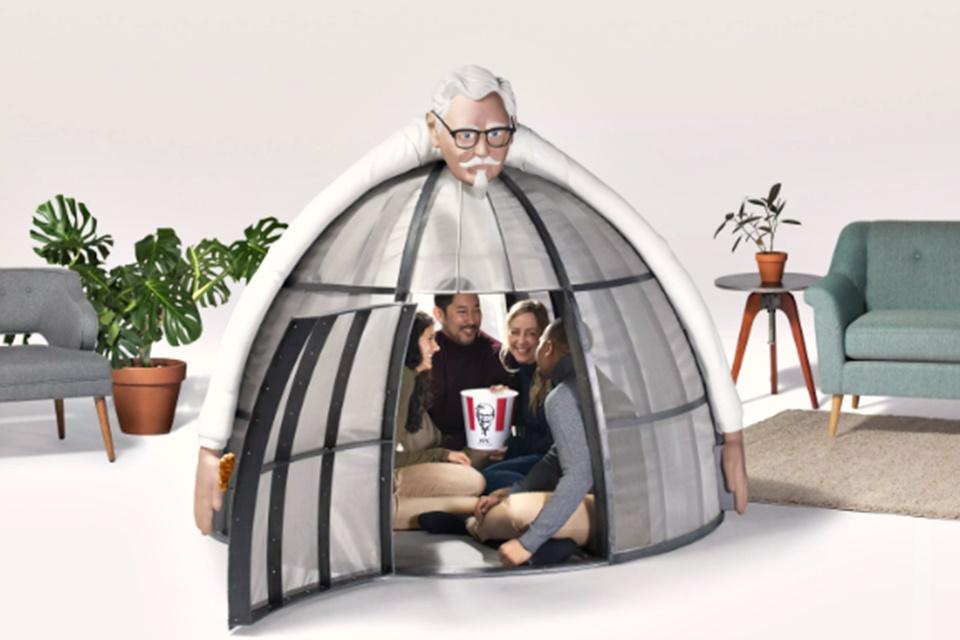 Imagem de Com frango frito mas sem web: KFC vende cabana anti-internet por US$ 10 mil no tecmundo