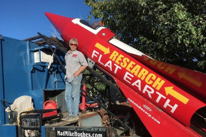 Imagem de Homem constrói próprio foguete e voará nele para provar que a Terra é plana no tecmundo