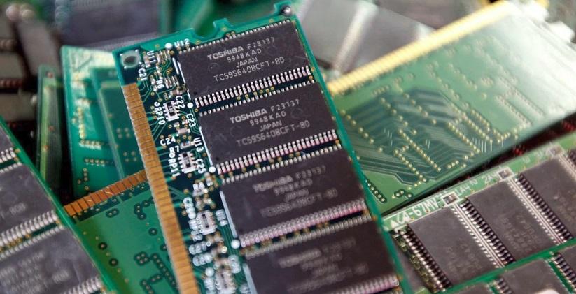 Chips de computador.