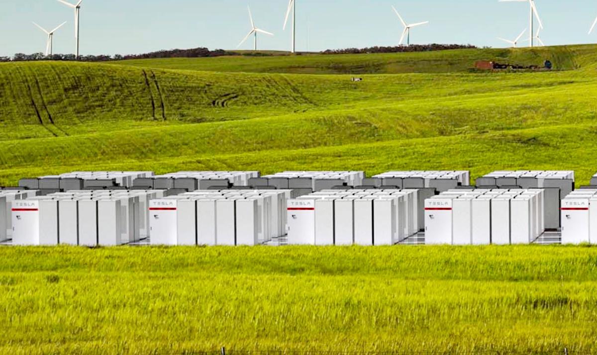Tesla Austrália bateria