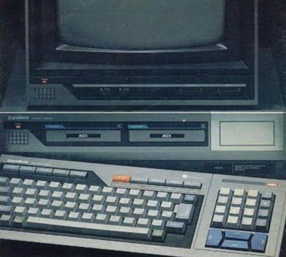 Um computador MSX.