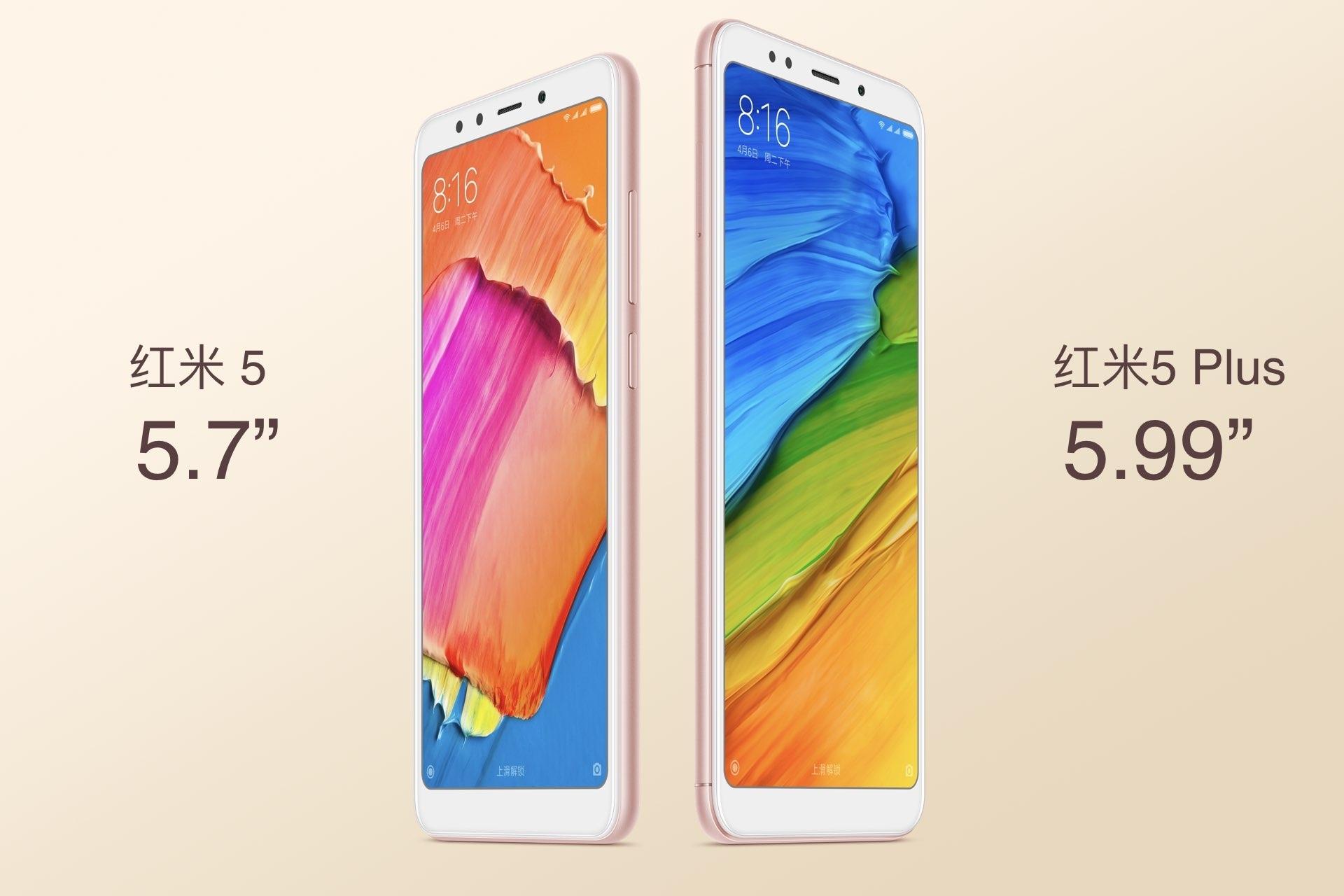 2165b7e0f Dispositivos Móveis · Redmi 5 e Redmi 5 Plus são oficialmente anunciados pela  Xiaomi
