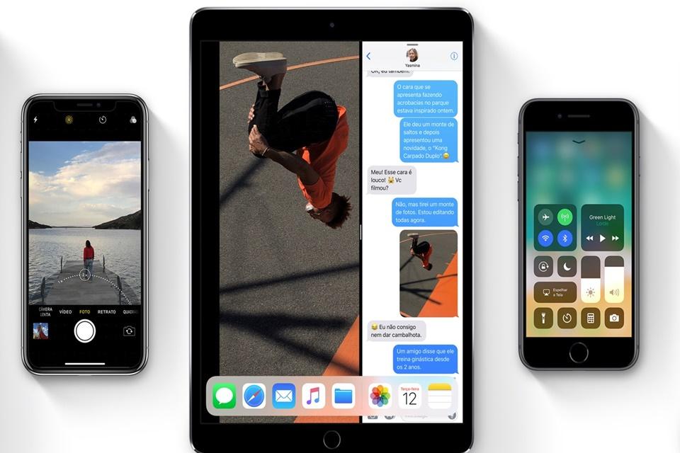 Imagem de 59% dos dispositivos Apple já têm o iOS 11 instalado no tecmundo