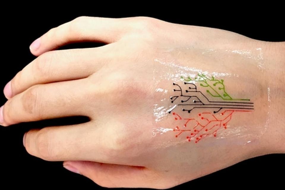 Imagem de Tatuagem camaleão: pesquisadores criam tatto que muda de cor no tecmundo