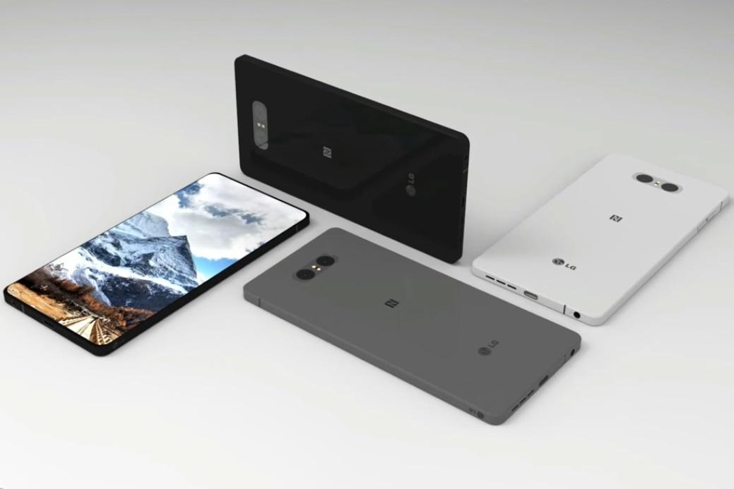 Imagem de LG G7 teria leitor de íris melhor que do Galaxy S8 no tecmundo