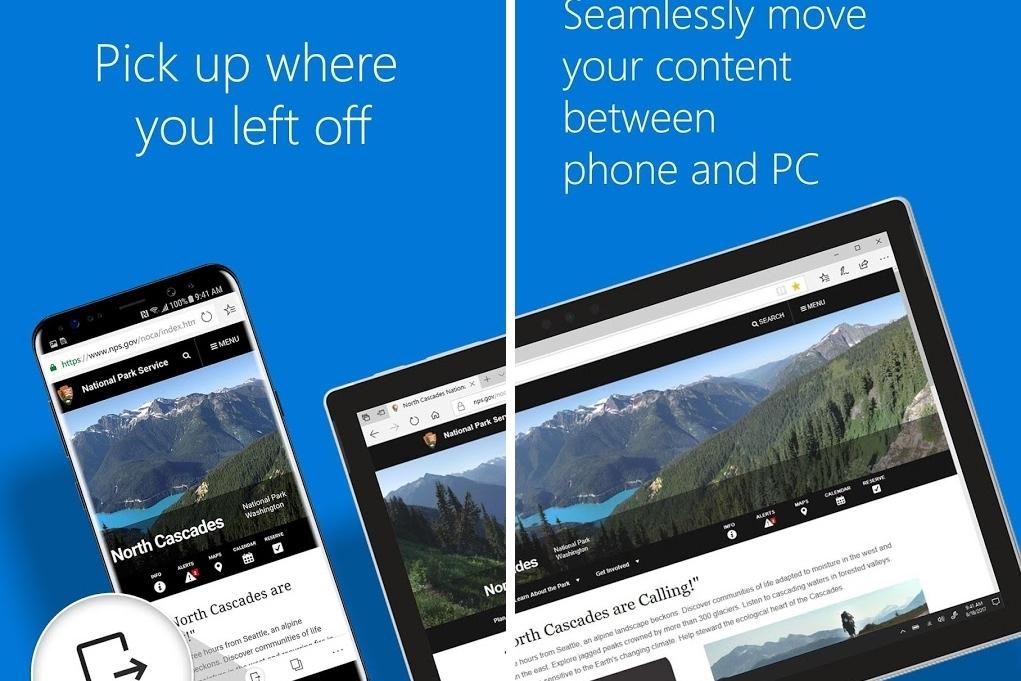 Imagem de Microsoft Edge para Android já foi baixado mais de 1 milhão de vezes no tecmundo