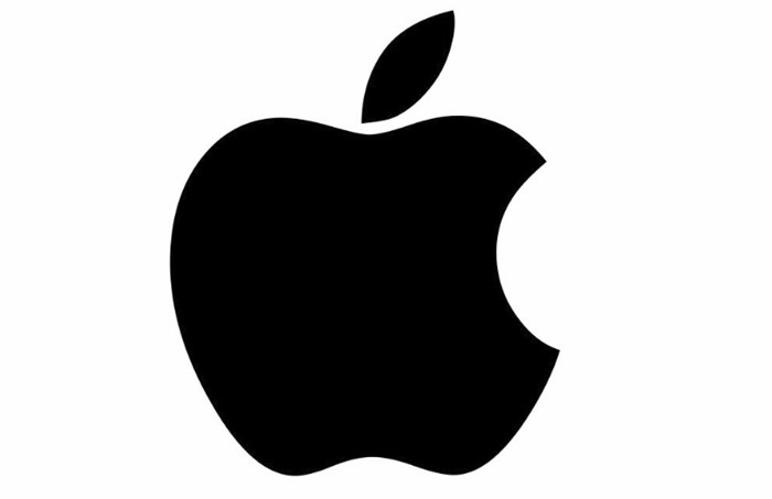 Logo da Apple.