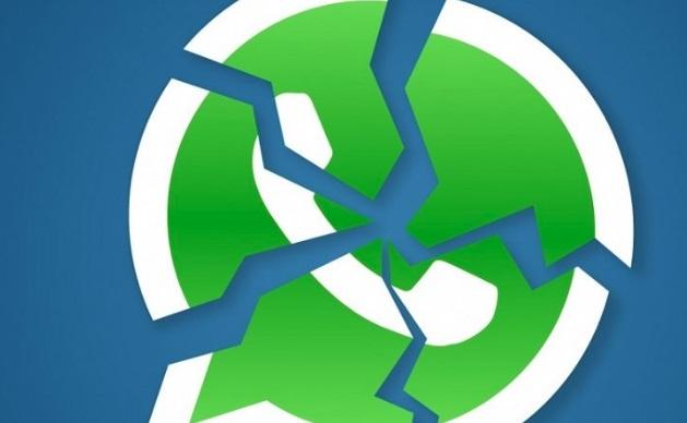 A logo do WhatsApp.